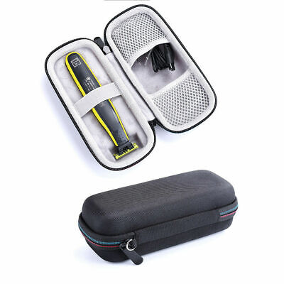 SHAVE Hard Travel Case For Philips Norelco One Blade Hybrid Electric Trimmer BK