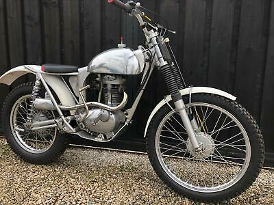 Bsa C15 Faber Otter Trials Pre 65 Road Regd £5295 Ono Px Bantam James Why?