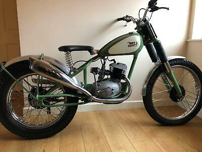 Bsa Bantam Rigid Pre 65 Trials Very Trick £4995 Offers Px Tiger Cub Dmw