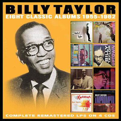 Billy Taylor : Eight Classic Albums 1955-1962 CD Box Set 4 discs (2019)