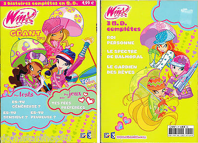 Promo : 1 Livre WINX CLUB GEANT N°6 - 145 Pages : BD, Tests, Jeux - NEUF