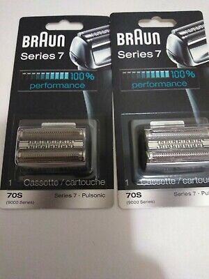 Braun series 7 70s replacement shaver head (2 replacement heads)