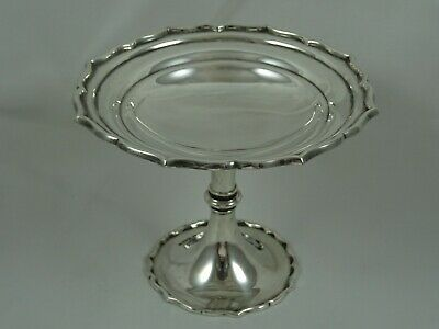 QUALITY solid silver SWEET DISH, 1912, 136gm