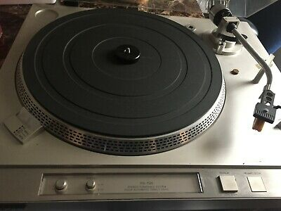Sony Direct Drive Fully Auto  Turntable  PS-T25 Shure Cartridge Excellent !