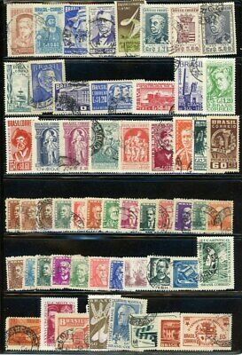 Brazil outstanding selection of 56 stamps - CV=$14.00 - Great variety