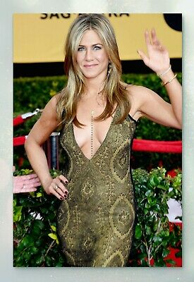 Jennifer Aniston Glossy Celebrity Photo 4x6 • N1