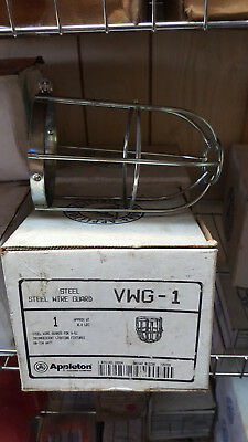 NOS Appleton V-51 Series Fixture Steel Wire Guard VWG-1
