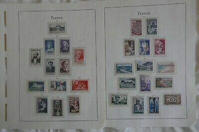 FRANCE ANNEES 1949-1954 timbres neuf** A 98%