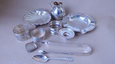 Job Lot English Hallmarked Sterling Silver For Re-Sell, Use, Spare Or Repair