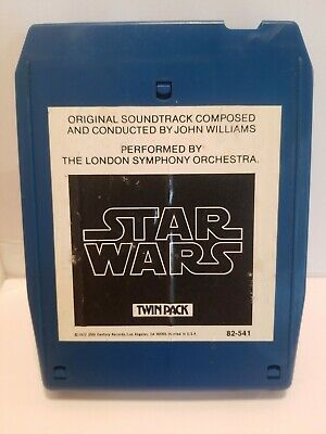 1977 STAR WARS 8 Track Tape ORIGINAL SOUNDTRACK London Sympy Orcst VINTAGE RARE