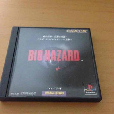 UsedGame PS1 PS PlayStation 1 Resident Evil from Japan