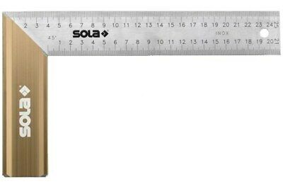 Sola Angle Finder SRB 250 250x145 mm Length 250 mm Measuring Range 45°/90°/135°