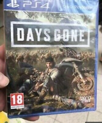 Days Gone PS4 BRAND & SEALED