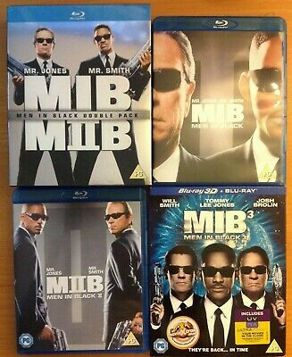 MEN IN BLACK Trilogy (Blu-ray) 1 is 3D + BOX SET. Will Smith