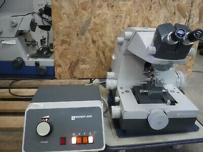 Reichert Jung UltraCut Microtome 701701 Ultramicrotome + Controller