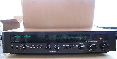 Beautiful Vintage Rotel RX 602 AM/FM Stereo Amplifier Receiver