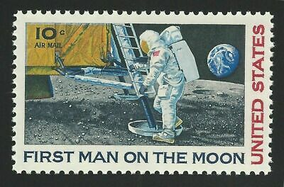 APOLLO 11 FIRST MAN ON THE MOON Neil Armstrong 50th Anniversary Space Stamp MINT