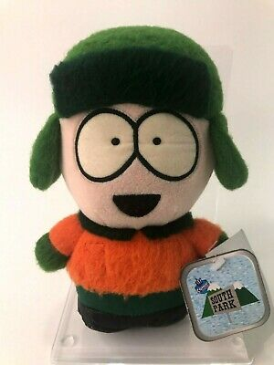 Vintage 1998 South Park Comedy Central Kyle Soft Plush Toy - Rare with Tags