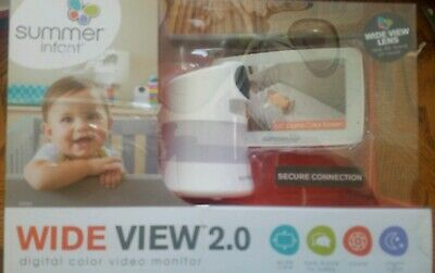 """Summer Infant 5"""" Wide View 2.0™ Digital, video monitor, As Is"""