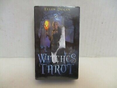Witches Tarot by Ellen Dugan and Mark Evans (2012, Cards) Brand New!