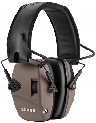 ZOHAN Ear Defenders, Electronic Shooting Noise Reduction Ear Protector for NRR -