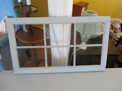 Antique window sash without glass. Gray/ shabby/ architectural decor.