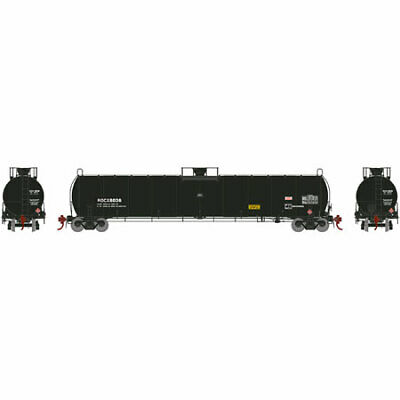 Athearn G25492 HO ROCX 33,900-Gallon Early LPG Tank Car #8036