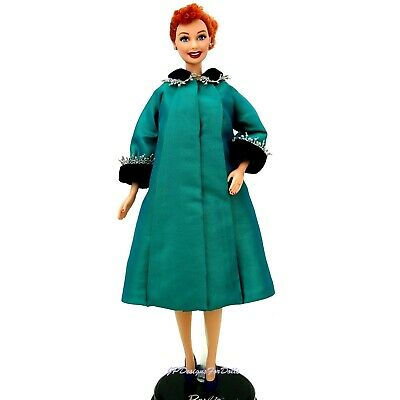 """Barbie I Love Lucy Episode 50 """"Lucy is Enceinte"""" DOLL New with Stand"""
