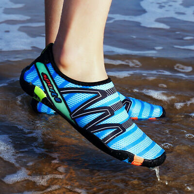 Unisex Aqua Shoes Summer Surf Mens Womens Water Socks Slip On Sea Wet Beach Swim
