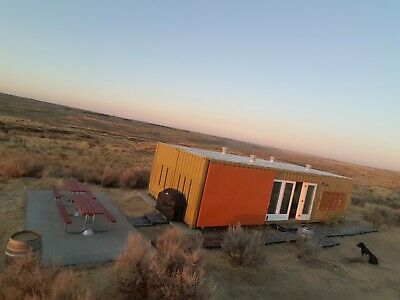 51 Acres Eastern WA with two (2) 40' Shipping Container House