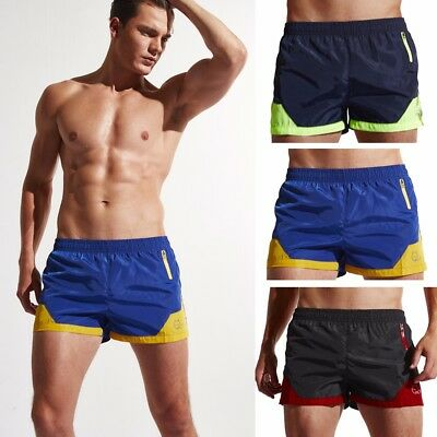 Men's Shorts Swim Trunks Quick Dry Beach Surfing Running Swimming Watershorts CA