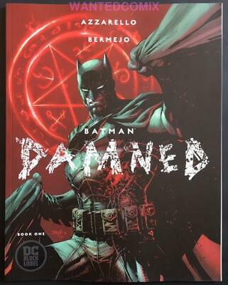 Batman Damned 1 Uncensored Variant Cover & Free Earth One Vol 2 Hc Geoff Johns 1