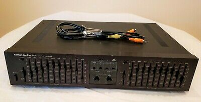 Vintage Harman Kardon EQ- 8, 10 Band Stereo Graphic Equalizer. Made in Japan.