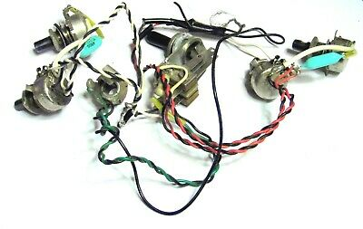 Vox Lynx Wiring Harness Early-to-Mid 1960s Switchcraft Italy Pots Arco Caps