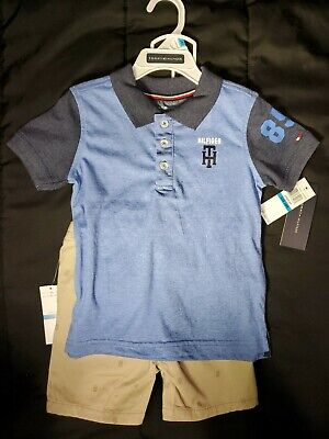 eb8f7a9f NEW Tommy Hilfiger Toddler Boys Infant 24 Months Summer Outfit Polo Shorts