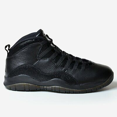 40303ace9eb Air Jordan 10 Retro OVO 2016 Black Drake Metallic Gold New Nike Men's 819955 -030