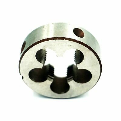 Finish Uncoated 10-32 UNF 19//32 Width Drillco 3350E Series Carbon Steel Hexagon Rethreading Die Bright