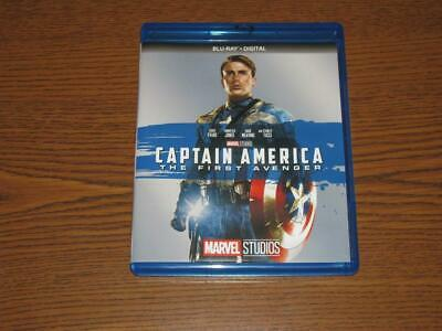 Captain America: The First Avenger (Blu-ray Disc, 2017) - Marvel Studios Phase 1