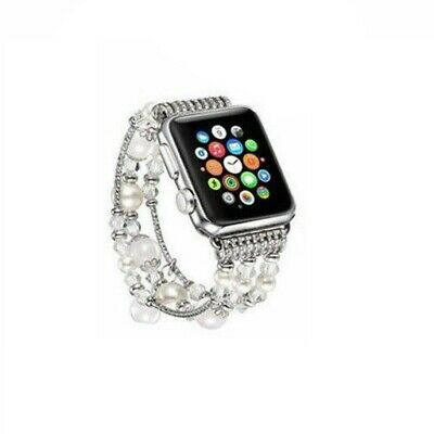 Bling Agate Beads Strap Bracelet Band For Apple Watch iWatch 3/2/1 42mm/38mm