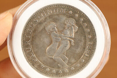 rare old tibet silver copper Belle girl sexy collection Valuable  +gift  box
