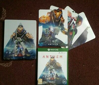 Anthem Xbox One steelbook with exclusive magnets