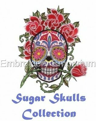 Sugar Skulls Collection - Machine Embroidery Designs On Cd Or Usb