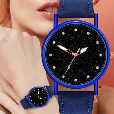 Luxury Women Watches Quartz Crystal Stainless Steel Dial Casual Bracelet Watches