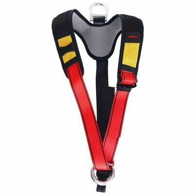 Upper Body Rock Climbing Rappelling Belt for Fire Rescue Caving Protect