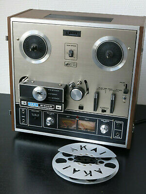 AKAI X-201D Stereo 4-track Reel to Reel Tape Recorder (1973-77)