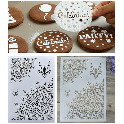 DIY Crafts Layering Stencils Template Walls Painting Scrapbooking Stamping Tools