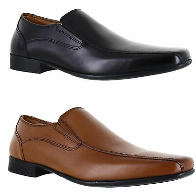 Mens Red Tape Moray Smart Casual Leather Slip On Loafers Shoes Sizes 7 to 12