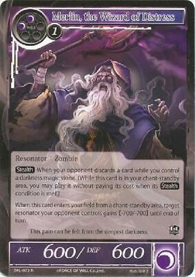 7x Merlin, the Wizard of Distress - SKL-072 - Rare New Force of Will CCG