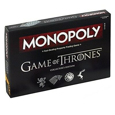 Game of Thrones Edition Monopoly Board Game Set Family Friends Fun Play Activity