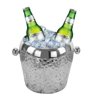 Metal Hammer Ice Bucket Single-Layer Copper Points Plating Bar Stainless Steel